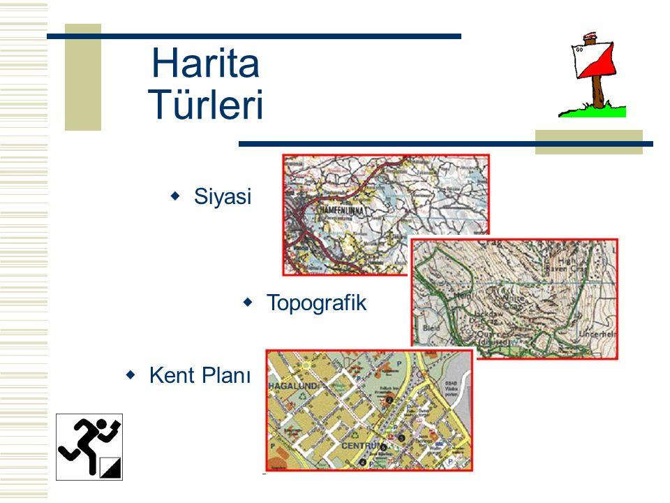 Harita Türleri  Topografik  Kent Planı  Siyasi