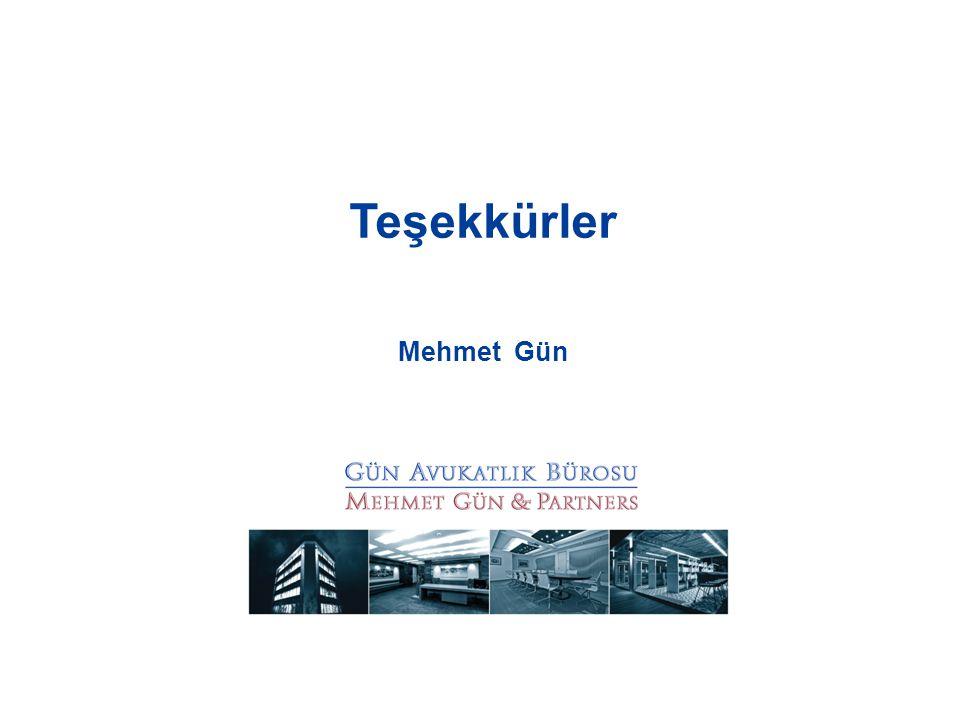 Teşekkürler Mehmet Gün