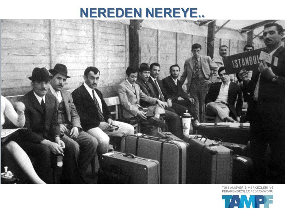 TÜRKİYE, AVRUPA'NIN EN BÜYÜK 7.PERAKENDE PAZARI..
