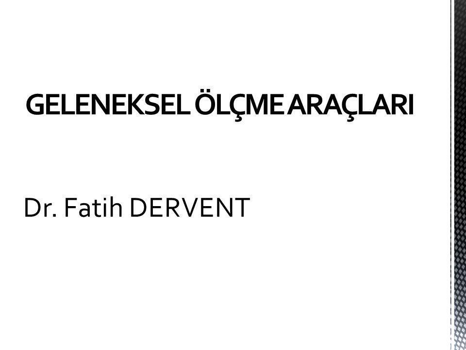 Dr. Fatih DERVENT