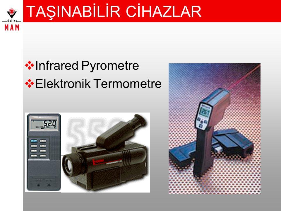 TAŞINABİLİR CİHAZLAR  Infrared Pyrometre  Elektronik Termometre