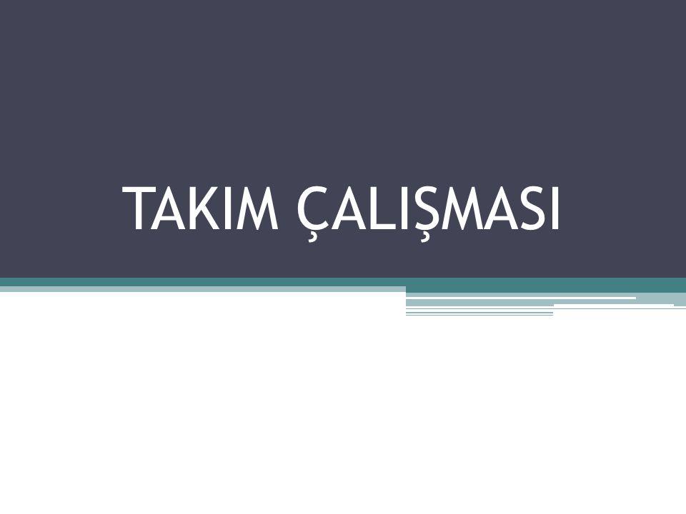 128 TAKIM ÇALIŞMASI
