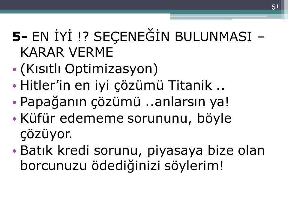 51 5- EN İYİ !.