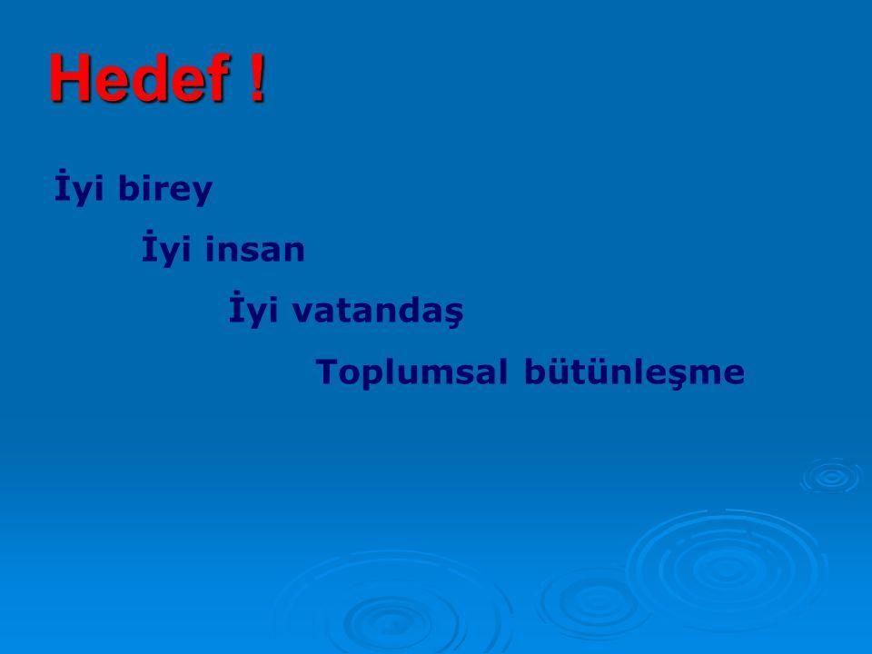 Programların Temel Referans Noktaları  Atatürk'ün çizdiği vizyon ve belirlediği ilkeler,  Bilimsel sonuçlar ve bilimsel yöntem,  Pedagoji tarihi ve Türk eğitim tarihinin günümüze ulaşan birikimi  Türk toplumunun ihtiyaç ve beklentileri  Anayasal ve yasal çerçeve,  Etkili ve geniş paydaş katılımı,  Ülkemizin AB vizyonu,