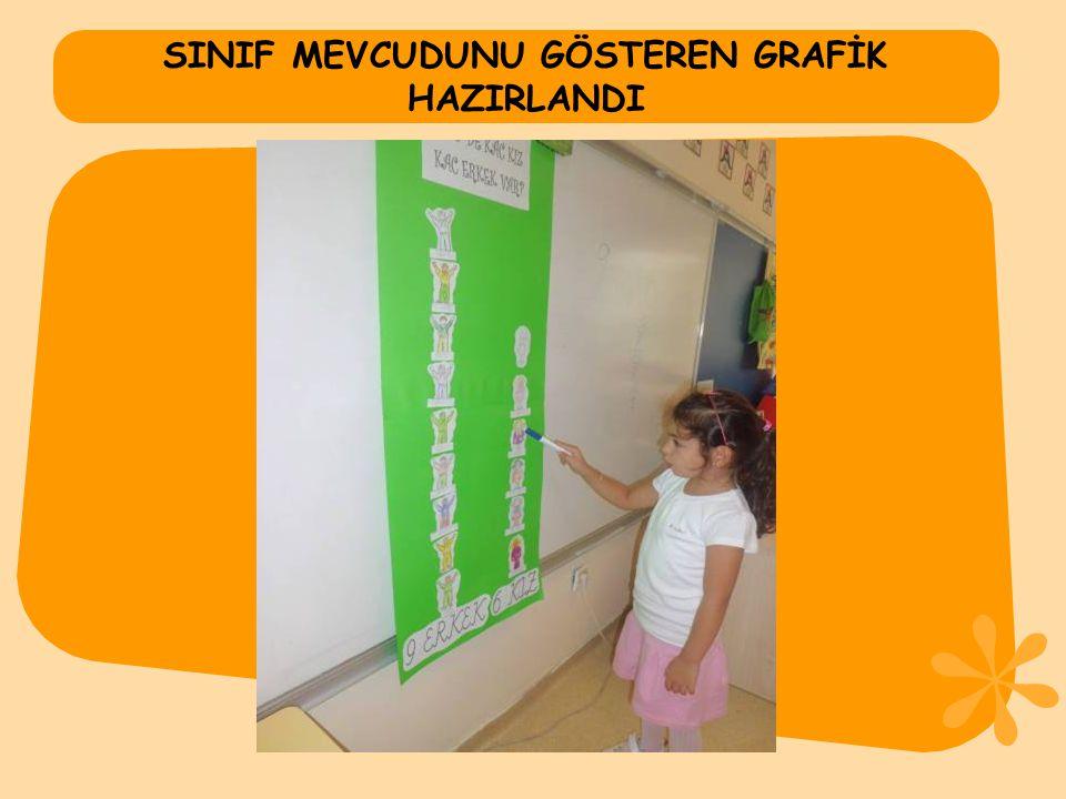SINIF MEVCUDUNU GÖSTEREN GRAFİK HAZIRLANDI