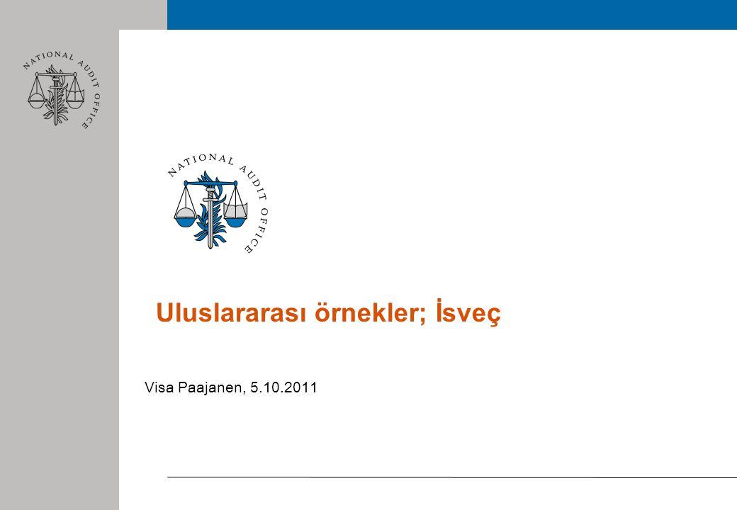 Uluslararası örnekler; İsveç Visa Paajanen, 5.10.2011