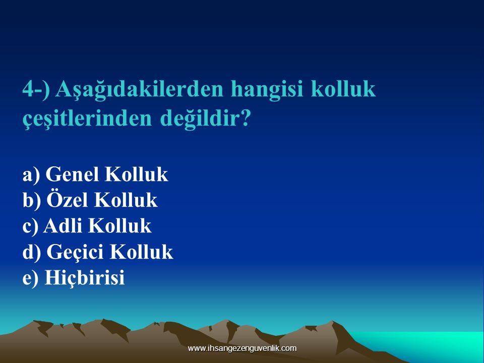 www.ihsangezenguvenlik.com 15-) Şok' un belirtileri arasında yer almayan belirti hangisidir.