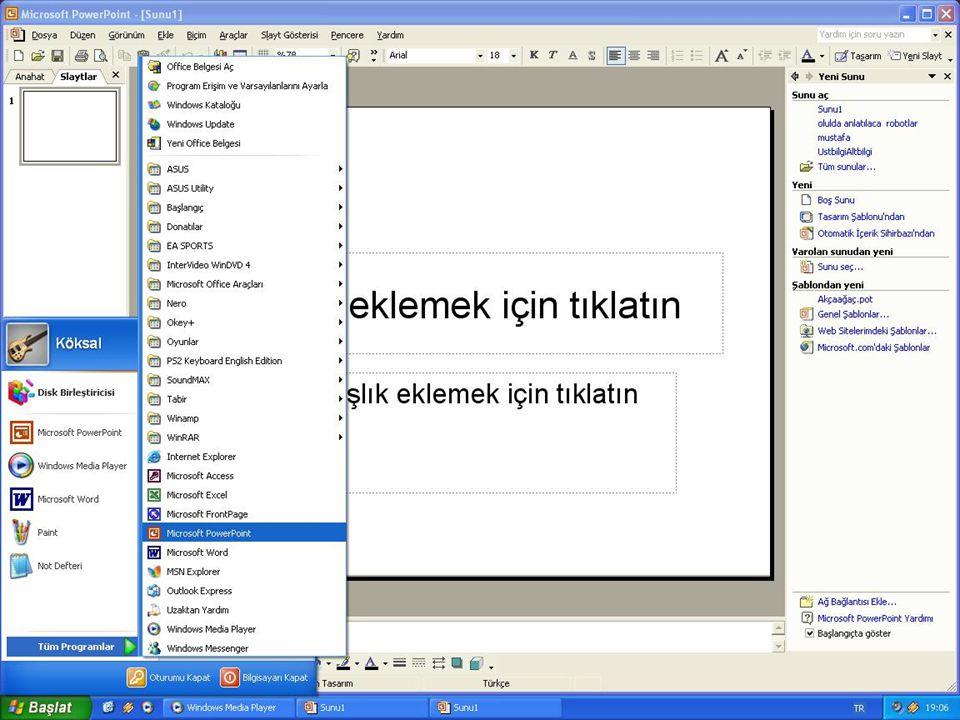 KAYNKLAR •Microsoft.com •Microsoft ofis(kitap)