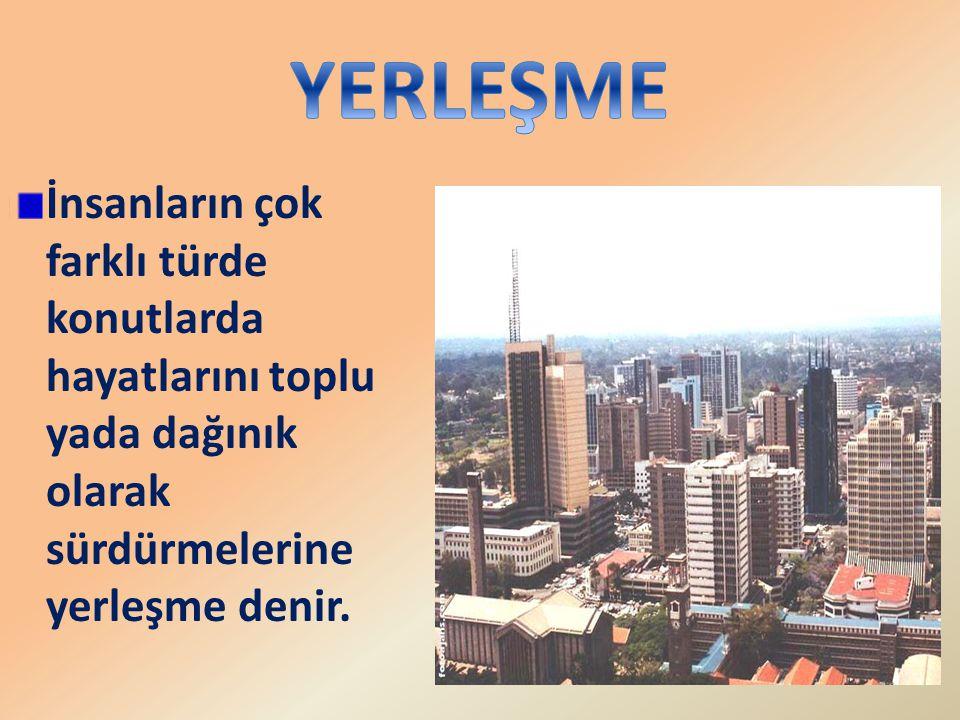Bu durumda yerleşmelerin üst sınırı en az olan bölgemiz Doğu Anadolu Bölgesi iken;en fazla olan bölgemiz Akdeniz Bölgesidir.