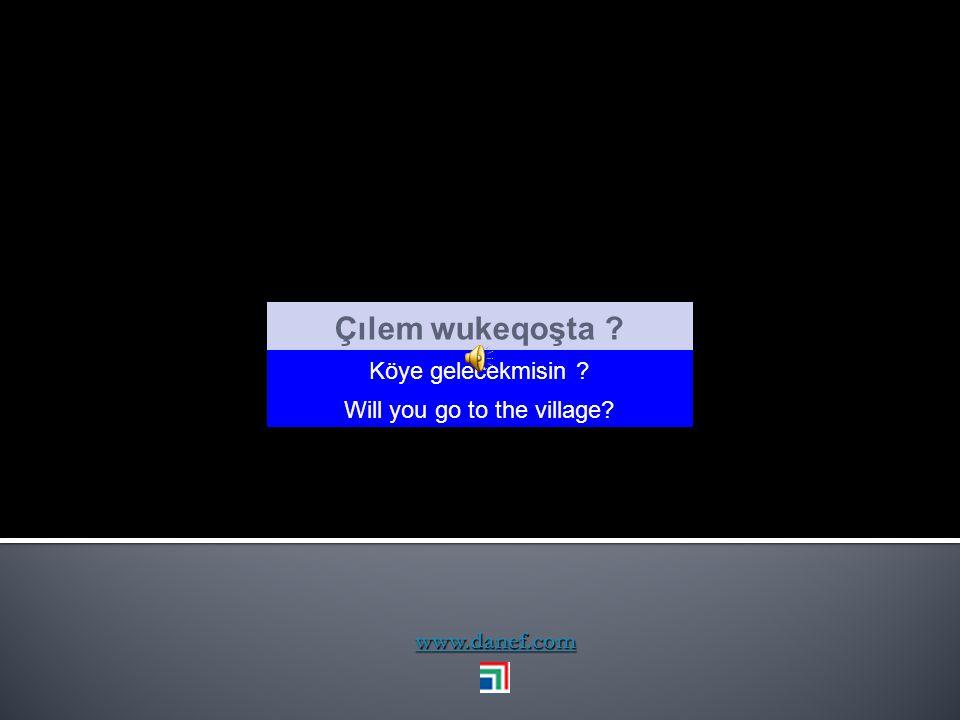 www.danef.com Blecığe Bılıpem sısmeceşxoağ. Geçen Pazartesi çok fena hastaydım I was terribly ill last Monday