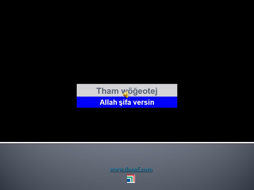 www.danef.com Tham ḱ éw ḣ um Allah korusun