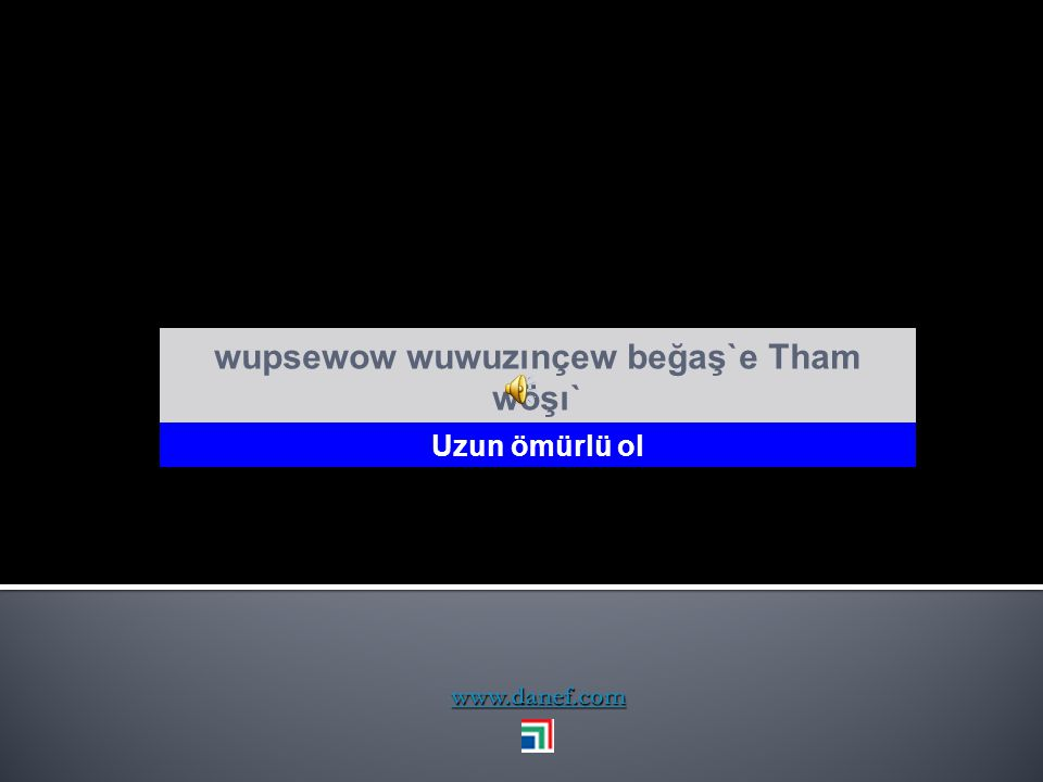 www.danef.com Tham wügu xeĺxer kudéğe ḣ u` Allah ne nuradın varsa versin
