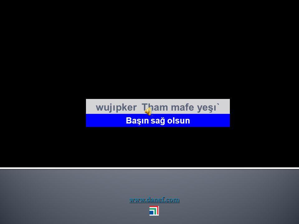 www.danef.com Tham wübınxem wadéğet ḣ ej Çocuklarınla mutlu ol