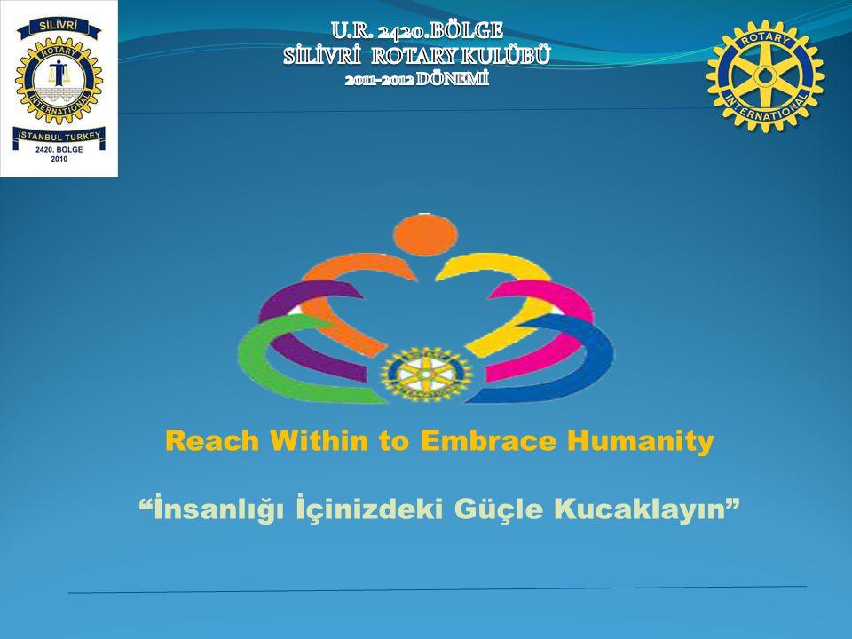 """Reach Within to Embrace Humanity """"İnsanlığı İçinizdeki Güçle Kucaklayın"""""""