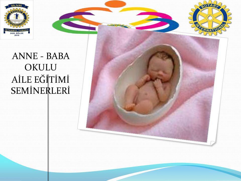 ANNE - BABA OKULU AİLE EĞİTİMİ SEMİNERLERİ