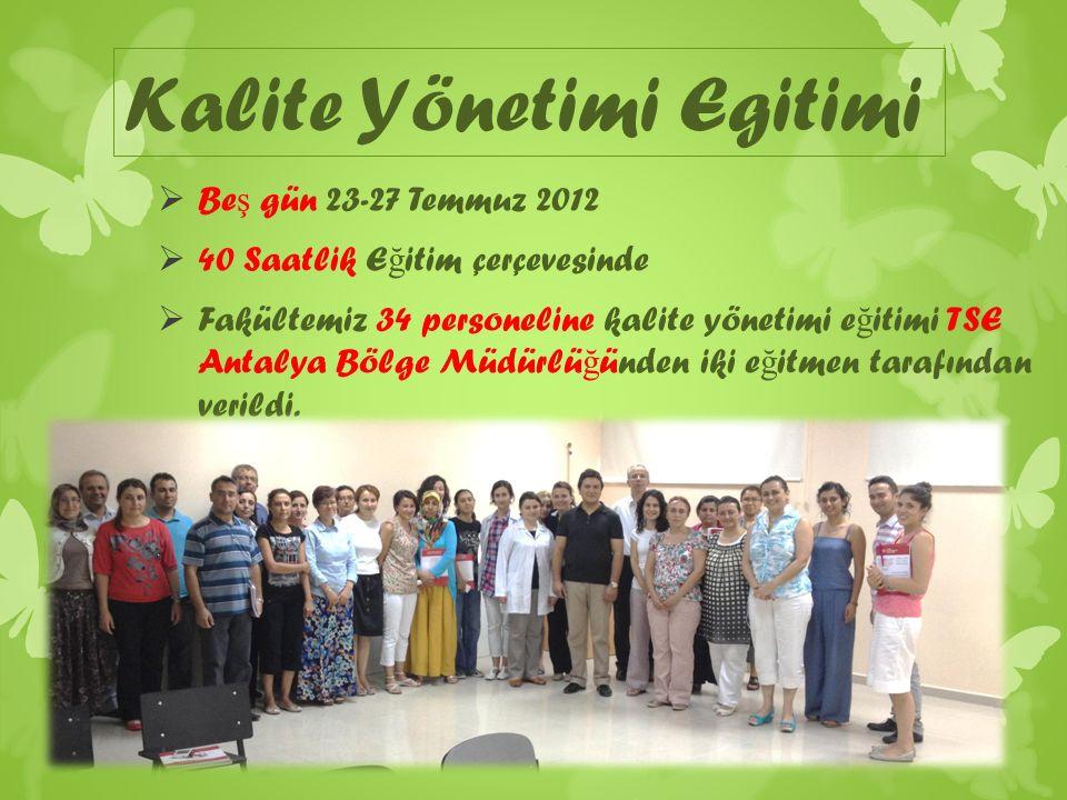 ©2009 Türk standartları Enstitüsü Yerine getirilen mü ş teri ş artlarının, mü ş teri tarafından algılanma derecesi.
