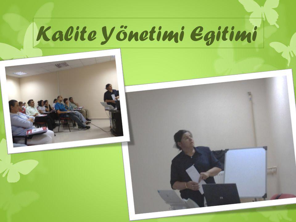 ©2009 Türk standartları Enstitüsü Gereken kaynakları sa ğ lamak ve hazır etmek üzere üst yönetime dikkat çekmi ş tir.