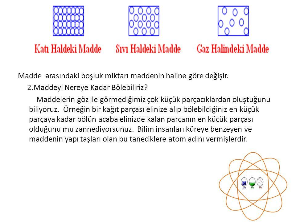 3.Tarih Boyunca Atom Fikri Tarih boyunca atom konusundaki fikirler sürekli olarak değişime uğramıştır.