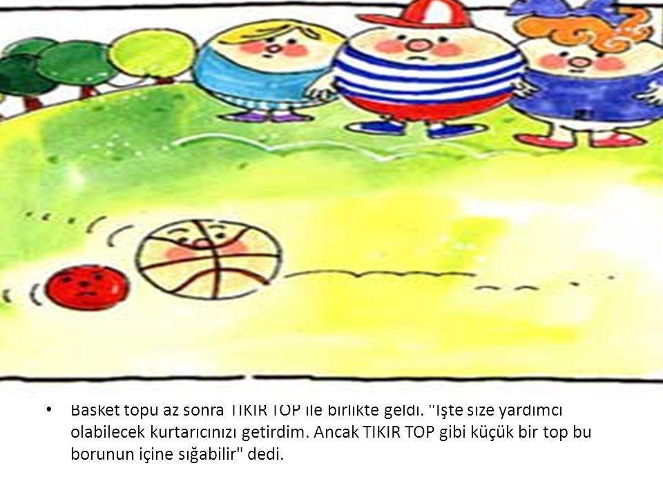 • Basket topu az sonra TIKIR TOP ile birlikte geldi.