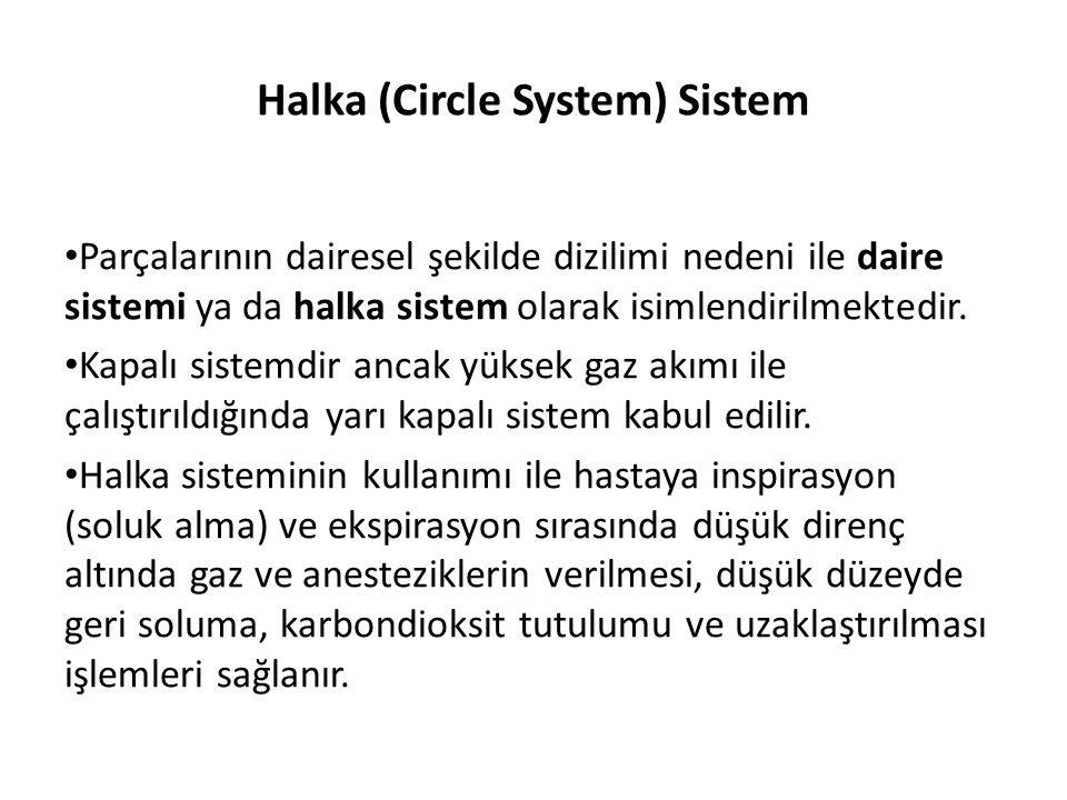 Halka (Circle System) Sistem • Parçalarının dairesel şekilde dizilimi nedeni ile daire sistemi ya da halka sistem olarak isimlendirilmektedir. • Kapal