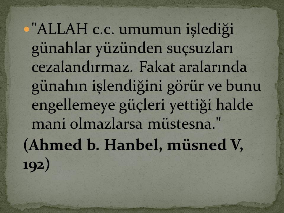  Kim günde on kere 'Allâh'ım.