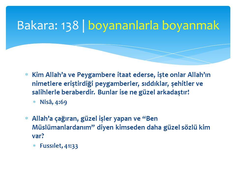  Kim Allah'a ve Peygambere itaat ederse, işte onlar Allah'ın nimetlere eriştirdiği peygamberler, sıddıklar, şehitler ve salihlerle beraberdir. Bunlar