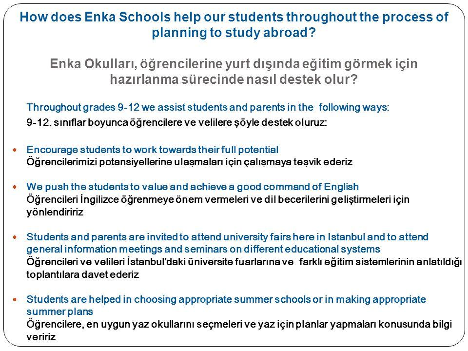Scholarship and Financial Aid continued...Burs ve Mali Yardım devamı...