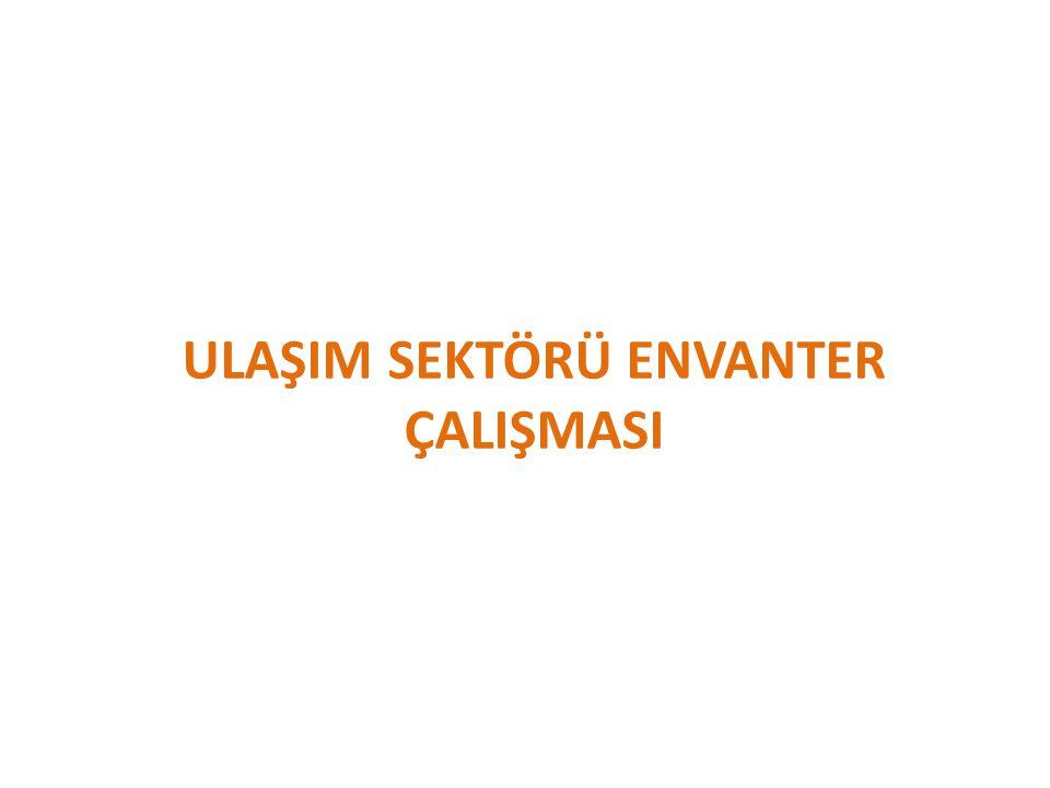 ULAŞIM SEKTÖRÜ ENVANTER ÇALIŞMASI