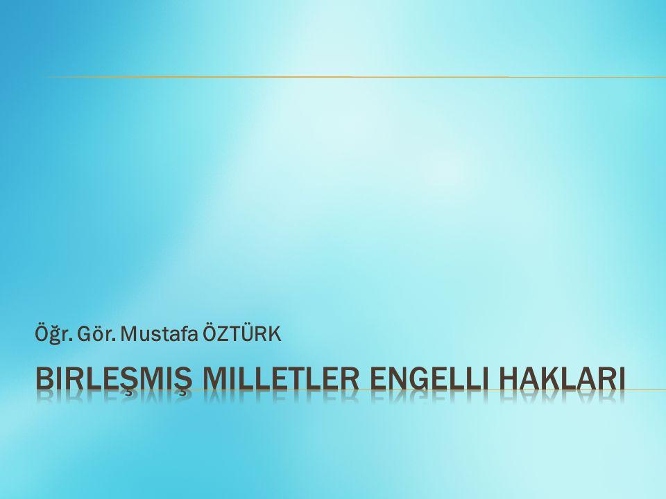 Öğr. Gör. Mustafa ÖZTÜRK