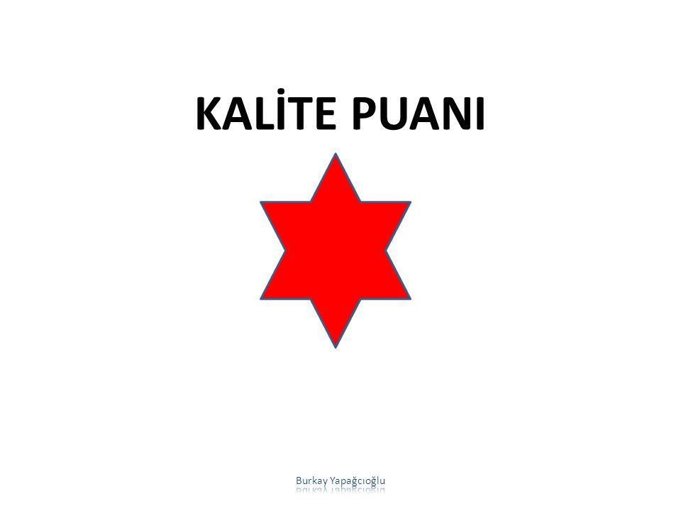KALİTE PUANI