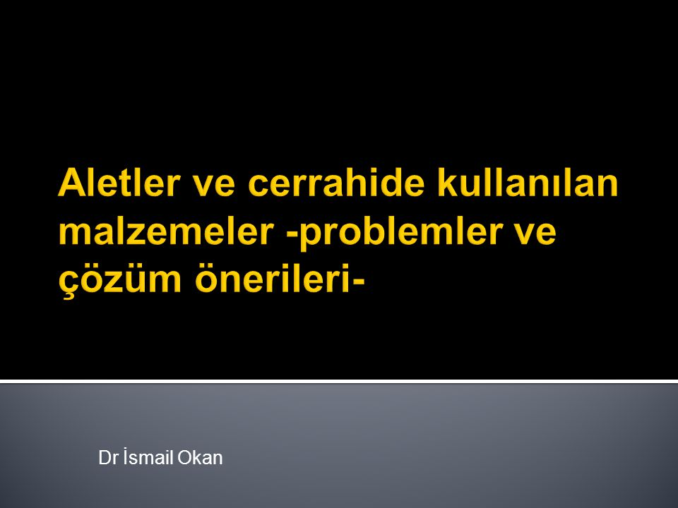 Dr İsmail Okan