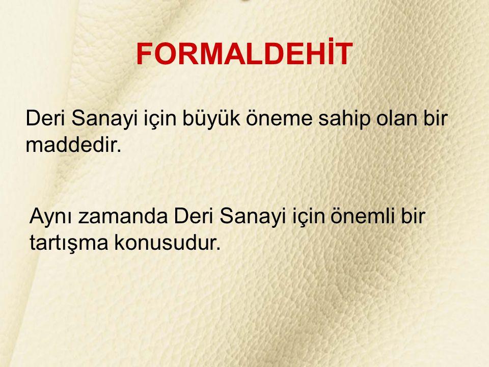 Deride formaldehit miktarını az tutmak için Düşük formaldehit içeren ürünler (Çoğu zaman formaldehit içermeyen ürünler olarak yanlış adlandırılırlar) ve Formaldehit giderici ürünler kullanılmaktadır.