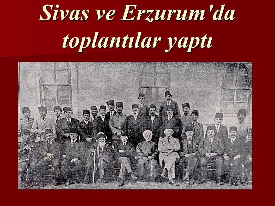 Mustafa Kemal, 19.Mayıs.1919'da Samsun'a çıkarak kurtuluş savaşını başlattı.