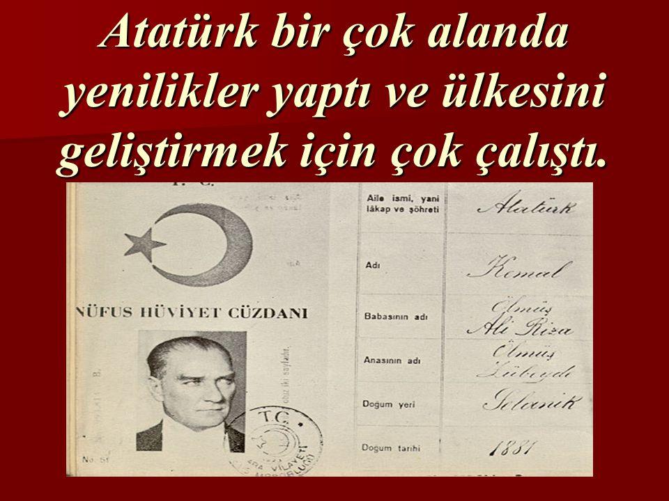 Cumhuriyet 29.Ekim.1923'de ilan edildi.