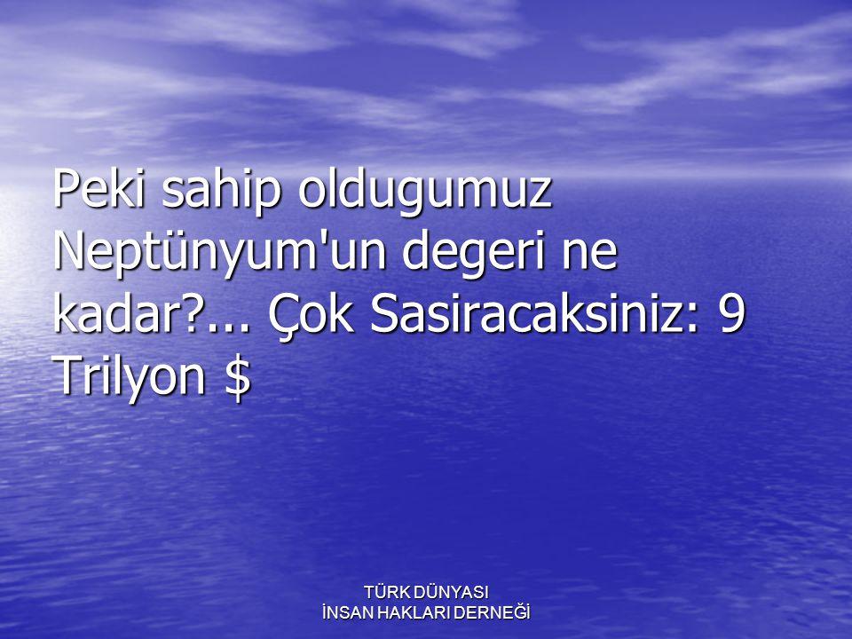 TÜRK DÜNYASI İNSAN HAKLARI DERNEĞİ Türkiye nin, iç borcu 85 milyar $.