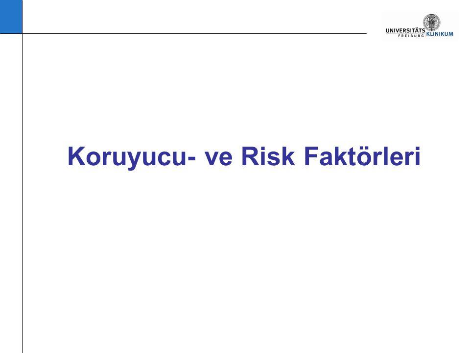 Koruyucu- ve Risk Faktörleri