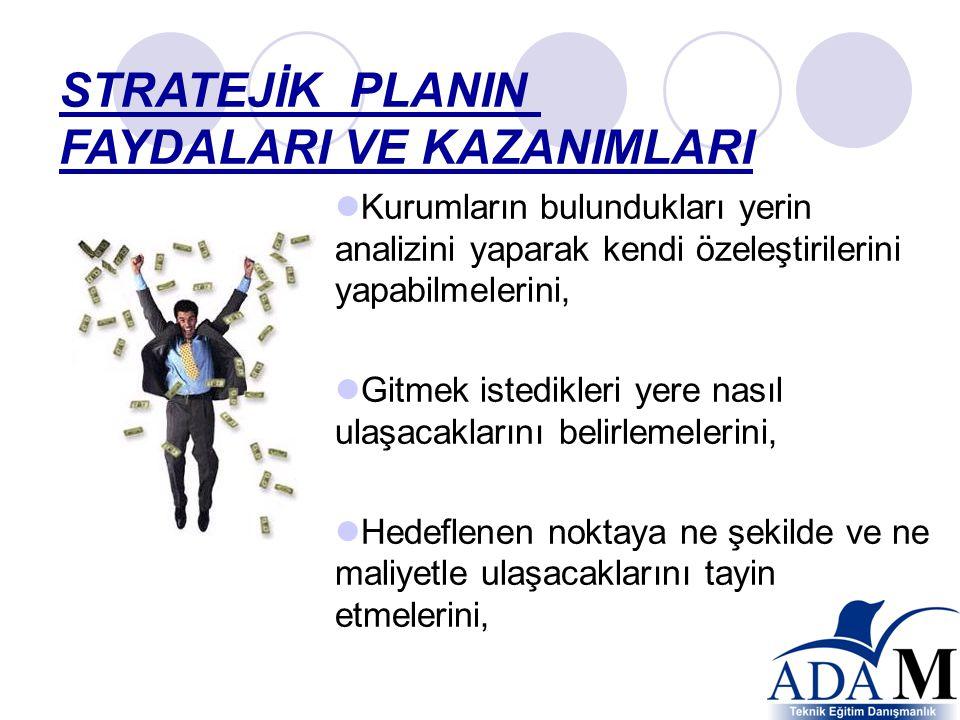 Stratejik planlamanın amacı stratejik düşünme aracılığıyla geliştirilen fikirlerin eyleme dönüştürülmesini ve desteklenmesini sağlar. Planlama analiti