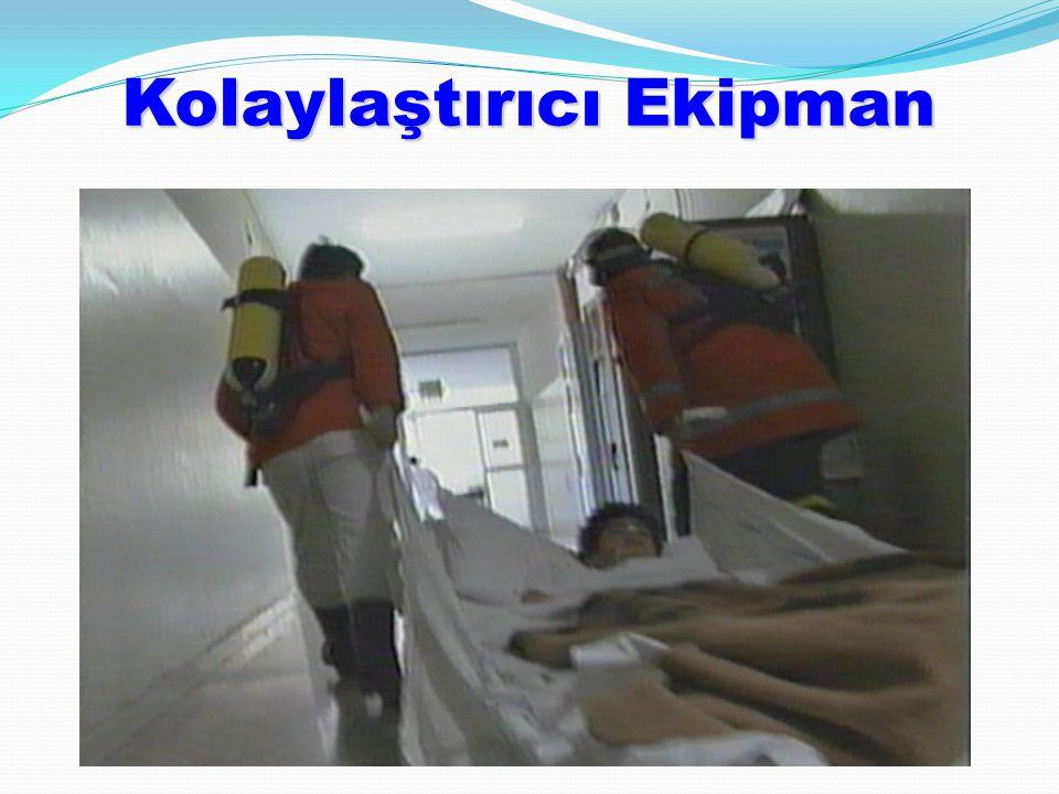 İnsan Kaynağı  Tahliye sürecinde çok sayıda personele gereksinim vardır (birimlerde bulunandan çok daha fazla)  Parsiyel Tahliyede diğer bölümlerden