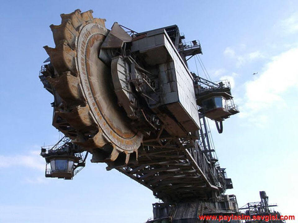 Teknik Özellikler: * Hareketli bu makine 100 mt.Yüksekliğinde ve 223 mt.