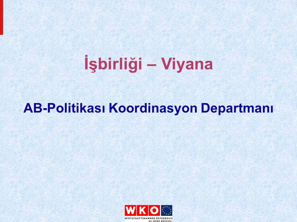 AB-Politikası Koordinasyon Departmanı İşbirliği – Viyana