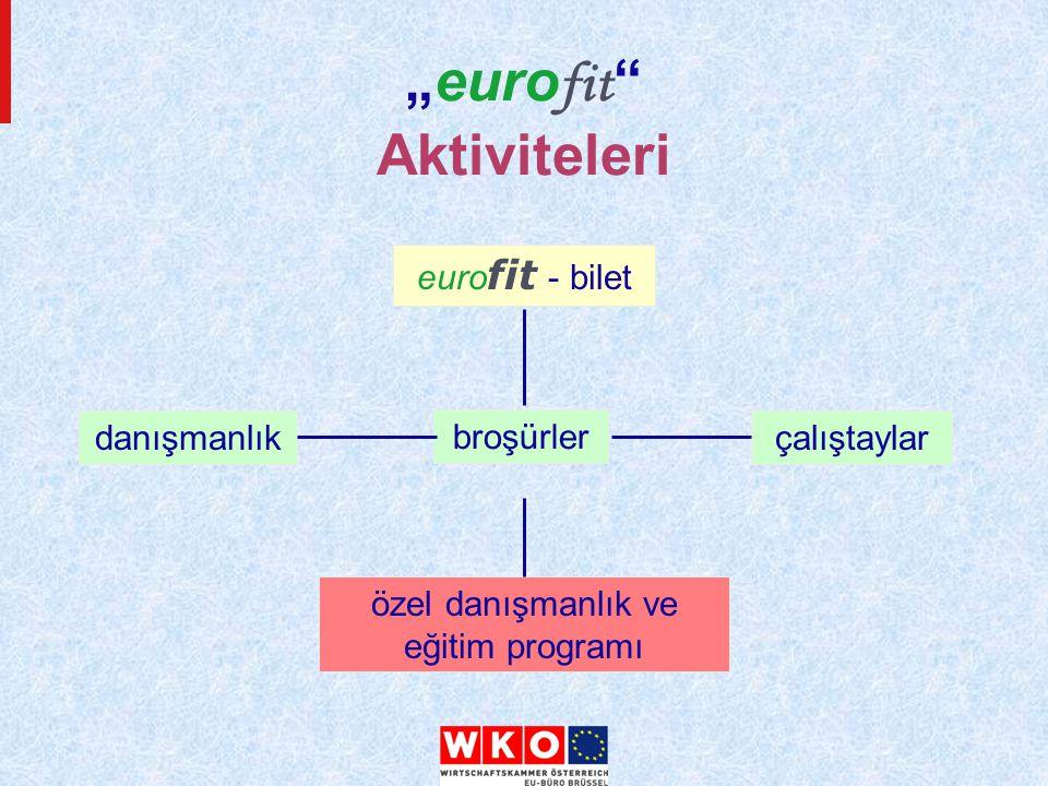 """""""euro fit Aktiviteleri euro fit - bilet broşürler çalıştaylardanışmanlık özel danışmanlık ve eğitim programı"""
