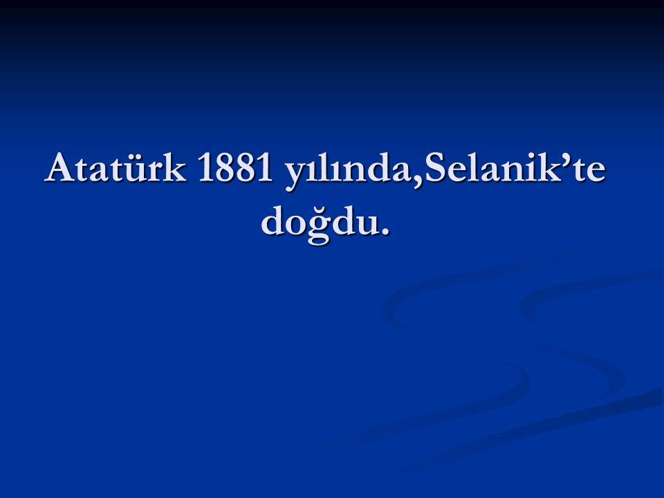 Atatürk,askeri okula gitmek istiyordu. Annesi askeri okula gitmesini istemiyordu.