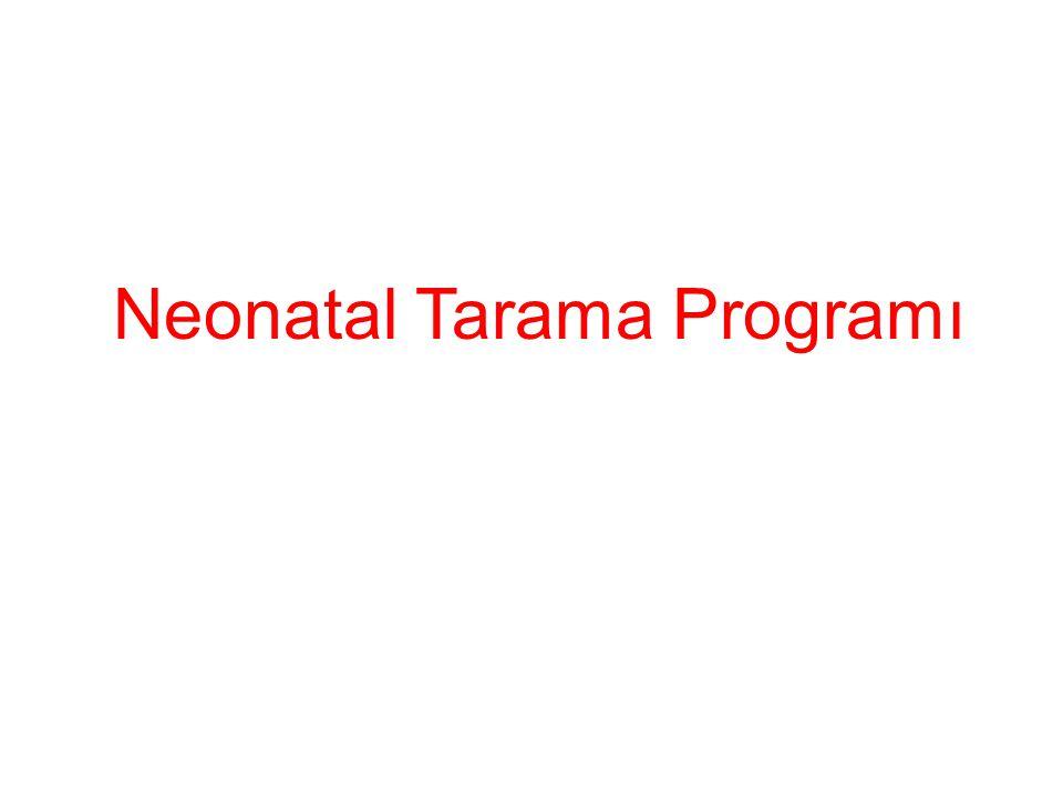 Neonatal Tarama Programı