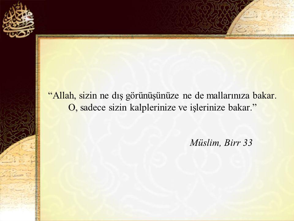Kendisini ilgilendirmeyen şeyi terk etmesi kişinin iyi Müslüman oluşundandır. Tirmizi zühd 11