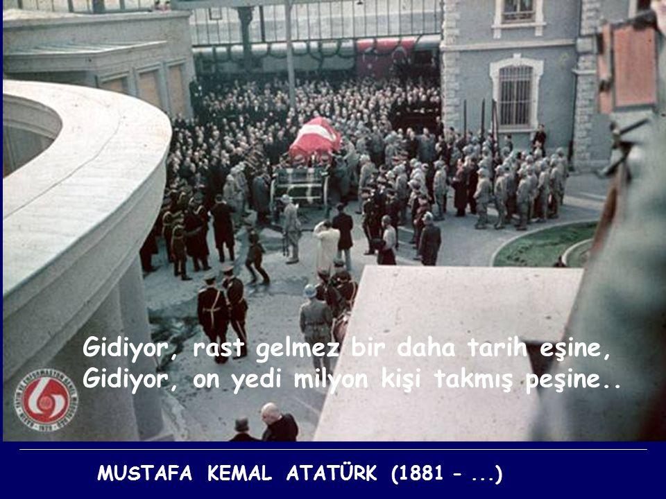 İÇİMİZDE YAŞIYOR MUSTAFA KEMAL ATATÜRK (1881 -...)