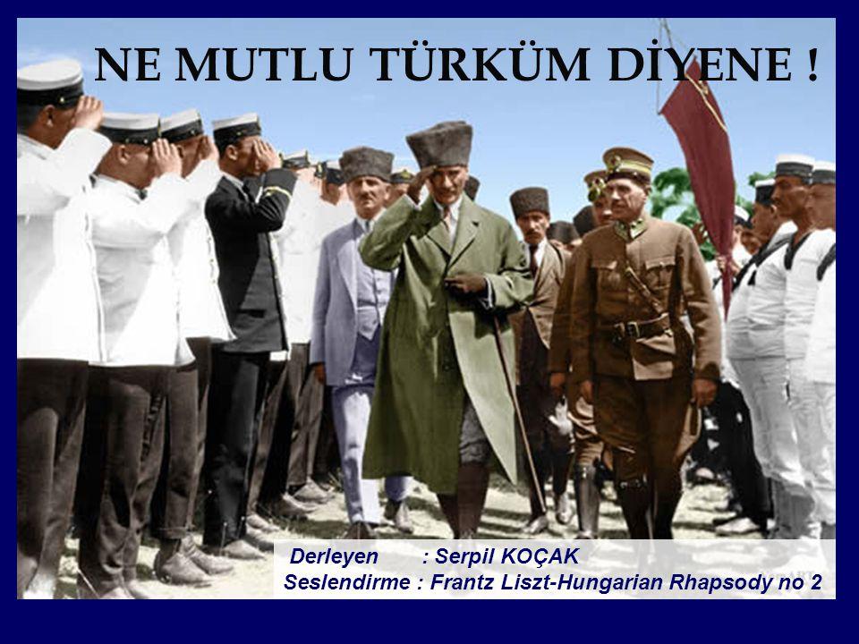Benim naçiz vücudum elbet bir gün toprak olacaktır, Ancak Türkiye Cumhuriyeti ilelebet payidar kalacaktır.
