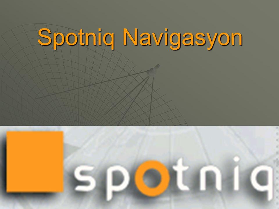 Spotniq Navigasyon