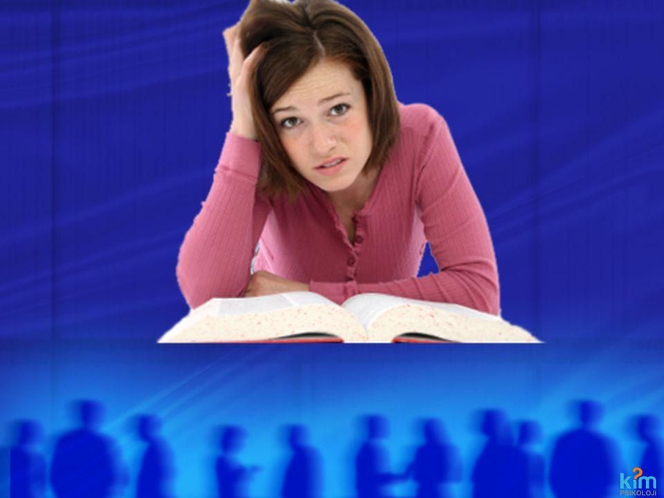 DERSİ DERSTE DİNLEMEK Zihnim dağılıyor ve sıkılıyorum Sınıfın önüne otur.