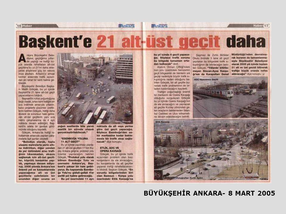 BÜYÜKŞEHİR ANKARA- 8 MART 2005