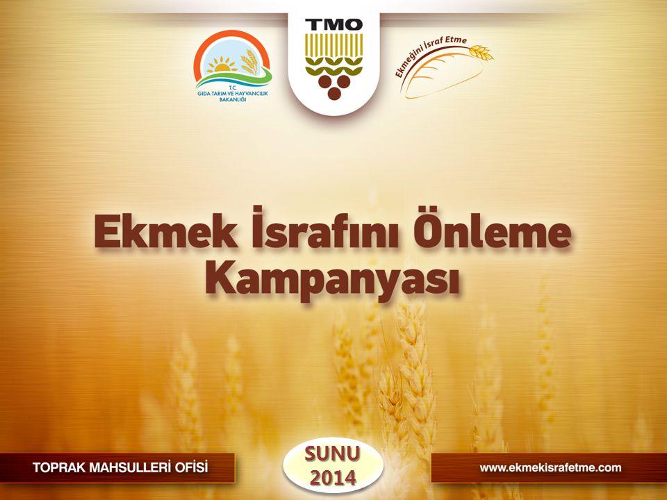 2012 yılı araştırmasıyla;  Ekmek israfının kötü niyetten ziyade ihmal ve bilgisizlikten kaynaklandığı,  2008 yılındaki ekmek israfının % 20 artarak günde 6 milyon, yılda 2,17 milyar adede ulaştığı,  Yıllık ekonomik kaybın 1,6 milyar TL olduğu,  Ekmek israfının mazot, su, arazi, maya, tuz vb.